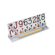 "Ableware 712524015 Playing Card Holder by Maddak-15""-4/Pack"