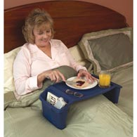 Ableware 764170000 Plastic Bed Tray by Maddak
