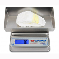Detecto WPS12DT Mariner Submersible Wet Diaper Scale-12 lb/5500 g