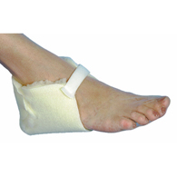Essential Medical D5005 Sheepette Synthetic Lambskin Heel Protectors