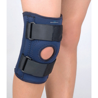 FLA Orthopedics 37-103207 Safe-T-Sport Knee Support-NVY-Pediatric/LGE