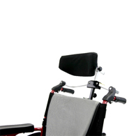 "Karman Foldable Rigidfy Headrest for 7/8"" Handle Frame"