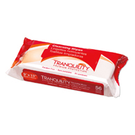 "Tranquility 3121 Hypoallergenic Cleansing Wipes-9""x13""-224/Case"