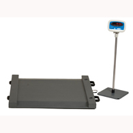 Brecknell DS1000 Floor Scale-1000 lb/500 kg Capacity