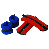 Valor Fitness EH-36 Ankle/Wrist Weights 2-3lb Pairs Set